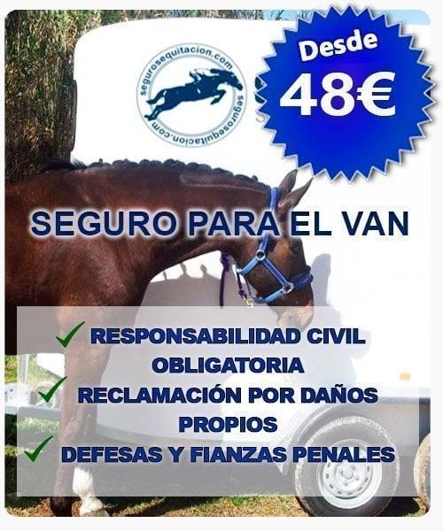 Seguro para el van del caballo desde 48euros